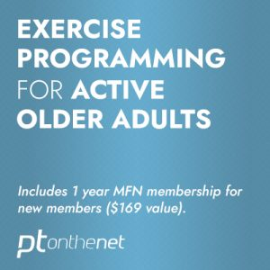 Exercise Programming for Active Older Adults