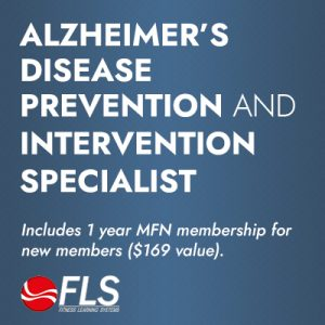 Alzheimer's Disease Prevention and Intervention, Medical Fitness Specialist Certificate Program