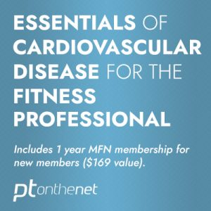 Essentials of Cardiovascular Disease for the Fitness Professional