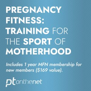 Pregnancy Fitness: Training for the Sport of Motherhood