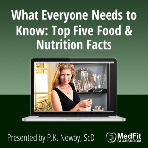 8/20/19 WEBINAR | What Everyone Needs to Know: Top Five Food & Nutrition Facts