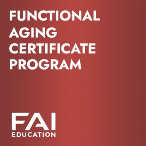 Functional Aging Certificate Program