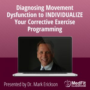 10/29/19 WEBINAR | Going to the Next Level: Diagnosing Movement Dysfunction to INDIVIDUALIZE Your Corrective Exercise Programming