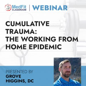 Cumulative Trauma: The Working From Home Epidemic
