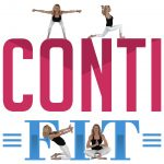 ContiFIT Logo with Yoga People